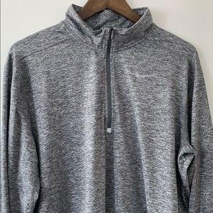 NIKE Running Quarter Zip Pullover